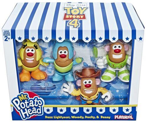 Woody Ducky Potato Mini Head Pack Buzz Toy Story 4 Mr Bunny Figure NEW