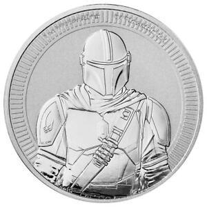 Niue - 2 Dollar 2021 - Star Wars™ - The Mandalorian™ - 1 Oz Silber ST