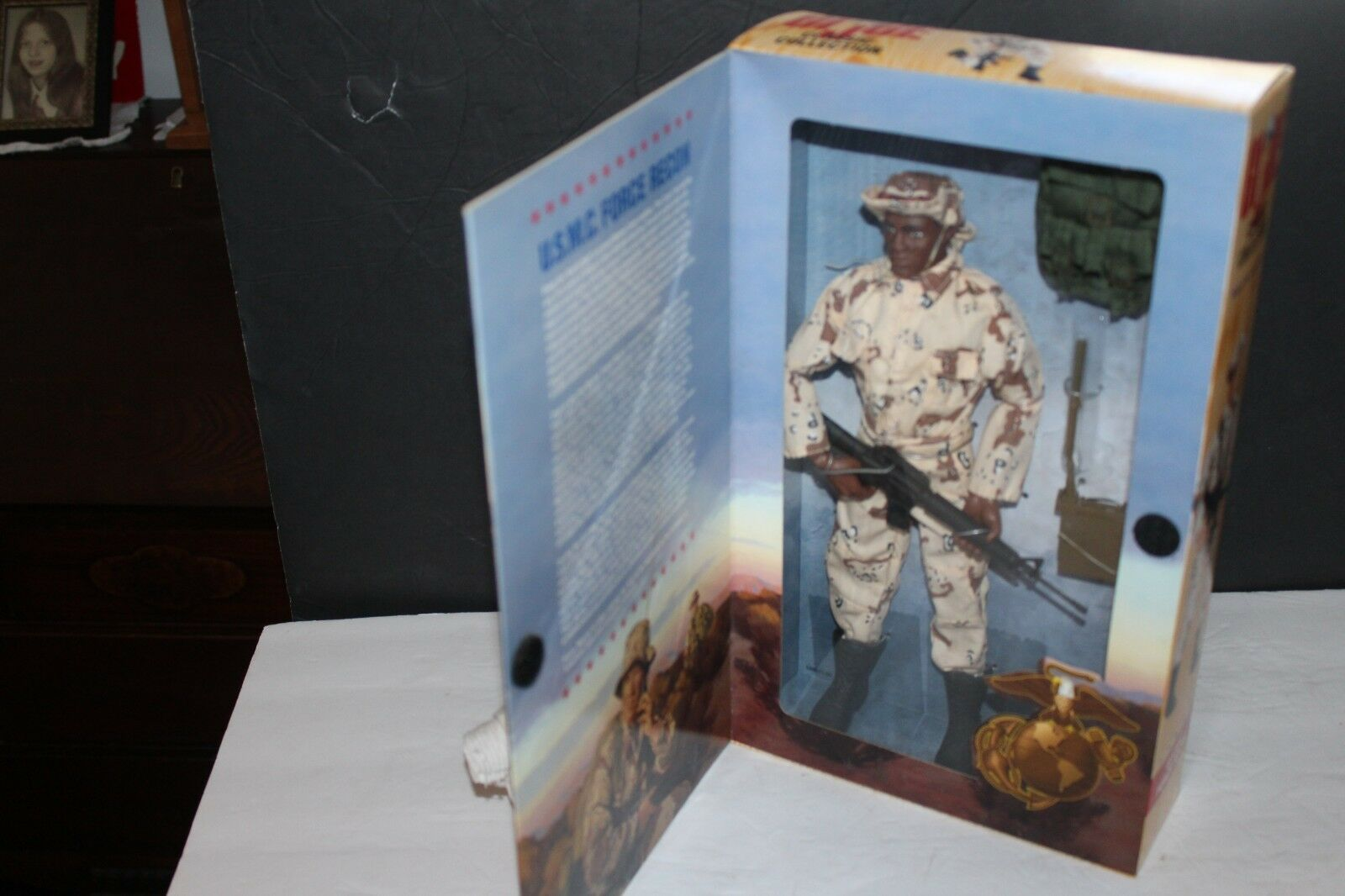 G.I. JOE CLASSIC COLLECTION US.M.C. AFRICAN AMERICAN FORCE RECON MIB