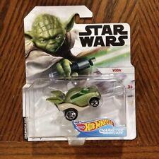 2019 Hot Wheels Star Wars Character Cars Yoda on Card