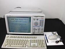 Agilent 16702b 003 Logic Analyzer Main Frame