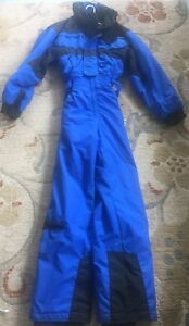Men-039-s-EDELWEISS-Ski-Winter-Snow-Suit-Full-Body-Belt-Sz-M-USED-ONCE-ONLY-NM