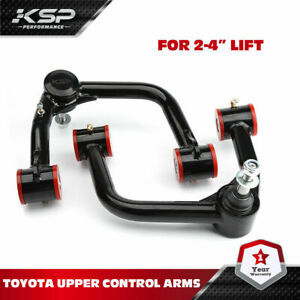 """KSP Front Upper Control Arms for 2-4"""" Lift 2005+ Toyota Tacoma 4WD/PRERUNNER"""
