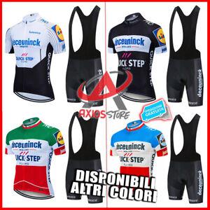 COMPLETO CISLISMO 2021 / Quick Step TEAM / Giro D'Italia Stradale / Quickstep