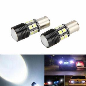 4x-No-Error-Canbus-360-White-LED-Backup-Reverse-Light-Bulb-P21W-1156-7506-BA15S