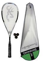 Browning Platinum Nano 100 Squash Racket + 3 Dunlop Squash Balls RRP £330