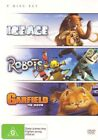 Ice Age Garfield Robots 3xdvds R4