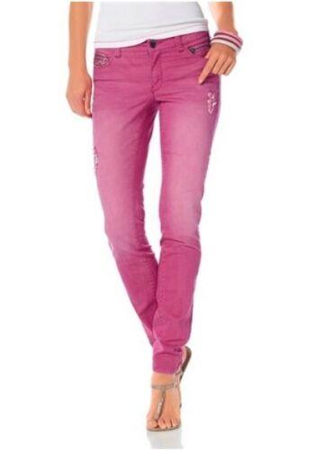 Nuovo Usato Fucsia Jeans Sigaretta Ajc Donna Elasticizzato A 42 Pantaloni Tgl TwzTtf6qx
