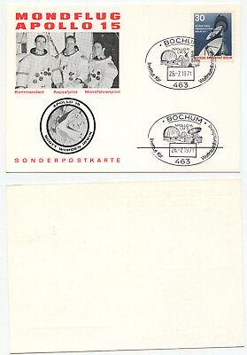 06428 - Sst: Apollo 15 - Institut Für Weltraumforschung - Bochum 26.7.1971