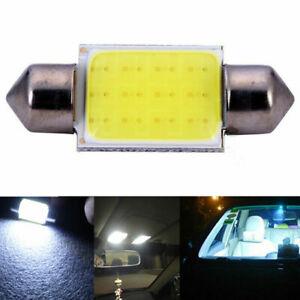 2pcs-36mm-12v-blanco-cob-chip-soffitte-utomatico-luz-interior-LED-lampara-nuevo-q5t7