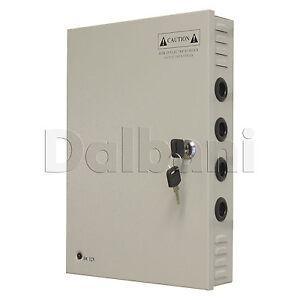 JC-240-12-Wall-Mount-Power-Supply-20-A-12-V-18-Port-for-CCTV-Camera-DVR-System