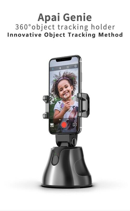 Apai Genie Auto Smart Shooting Selfie Stick 360° Object Tracking Holder All-In-One Rotation