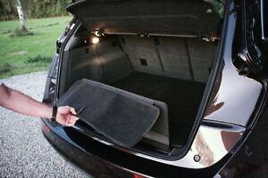 Protection de bord de chargement Audi Q7 (4m) O. Varios. Tapis de coffre à 5 places rabattable