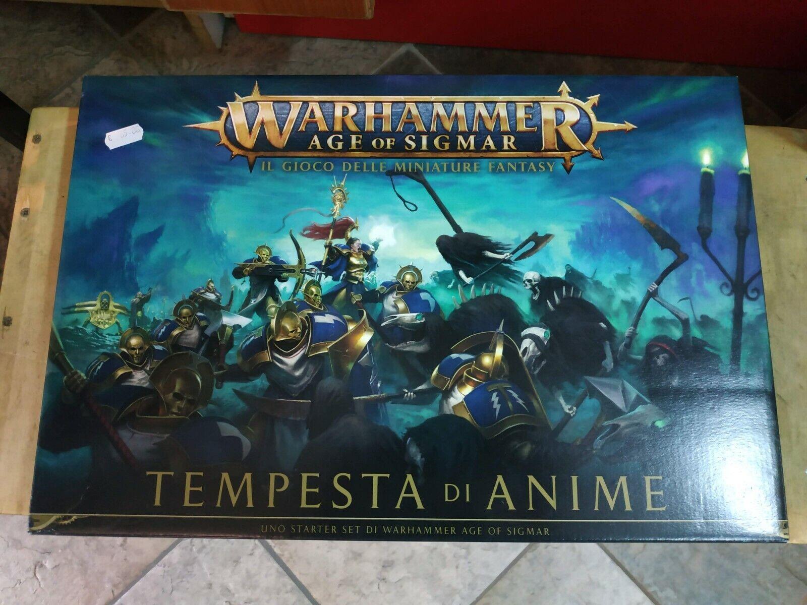 giocos  lavoronegozio - Age of Sigmar - Tempesta di Anime  vendite online
