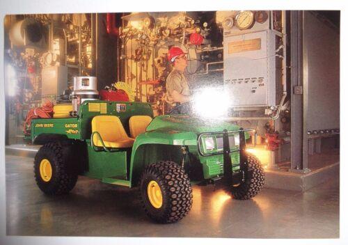 *John Deere Dealers 4x2 Gator Postcard New Old Stock!1997 literature advertising