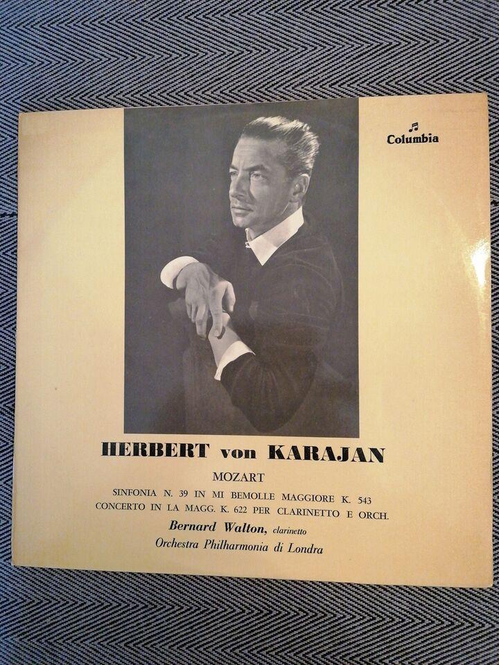 LP, Herbert von Karajan, Mozart