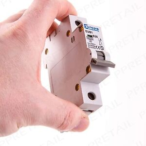 50a miniature circuit breaker type b single pole amp mcb fuse box rh ebay co uk