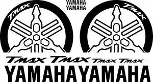 KIT ADESIVI Stickers 3D BOOMERANG PROTEZIONE GRAFFI YAMAHA Tmax T max 2008//2011 Nero