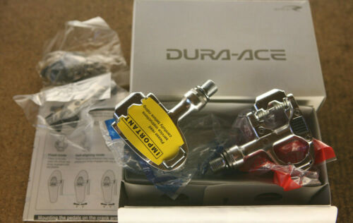 PD-7700 Road Track pedals pedalset cleats Vintage NOS NEW NIB Shimano Dura Ace