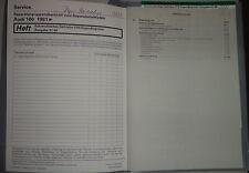 Werkstatthandbuch Audi A6 C4 Automatik Getriebe 01N Diagnose ab 1991