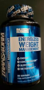 Evlution Nutrition - TRANS4ORM - 120 Capsules - Weight Management - Exp 3/2021