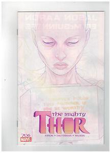 MIGHTY THOR #706  1st Printing - Legacy                     / 2018 Marvel Comics