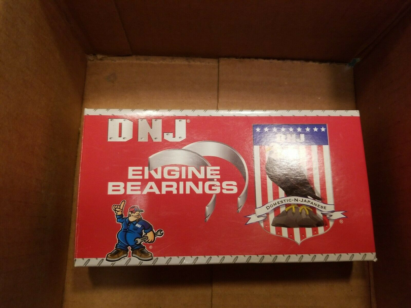Engine Crankshaft Main Bearing Set DNJ MB435.20