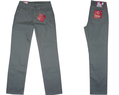 Beige ✅Stooker Tokio Damen Stretch Jeans Hose Dull Taupe