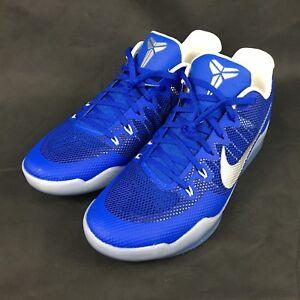 7f768e0f693984 Nike Kobe XI TB Promo Basketball Shoes Royal Blue Mens 15 New 856485 ...