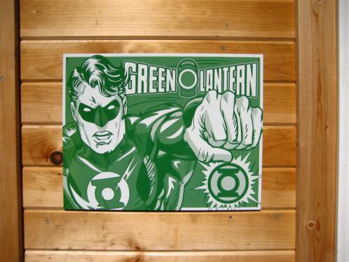 Green Lantern TIN SIGN vintage retro dc comic book metal poster wall decor 1733