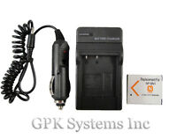 Sony Cyber-shot Dsc-w510 Dsc-w380 Dsc-w360 Digital Camera Battery + Charger