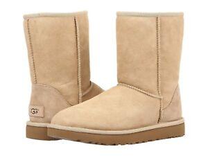 Classic II UGG Australia Femmes Classic Short UGG Boots Boots Shoes Short Sand ada037d - deltaportal.info