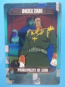 Morinaga Gundam Anime Collectible Trading Card MegaHouse Dozle Zabi 1-38-403