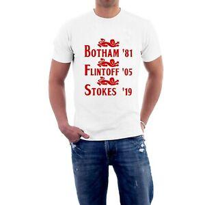Botham-Flintoff-Stokes-Cricket-T-shirt-England-Lions-Tee-sillytees