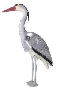 XL-Reiher-Fischreiher-Teichfigur-Garten-Reiherschreck-Gartendeko-Vogelschreck