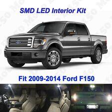 13 x White SMD LED interior Backup License Plate Lights for 2009-2014 Ford F150