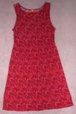 JOE FRESH Red & Orange Floral Sundress, Sleeveless Dress, Jumper, Women's M