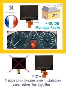 PEUGEOT-407-LCD-PCB-VDO-DISPLAY-SCREEN-INSTRUMENT-CLUSTER-DASH-NEW-FR-SUPPLIER