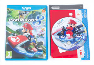 mario kart 8 nintendo wii u game case pal ebay. Black Bedroom Furniture Sets. Home Design Ideas