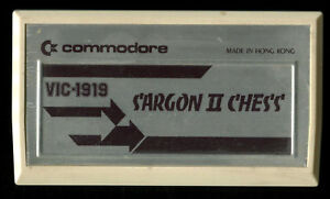 Details about SARGON II CHESS VIC 20 Video Game Cart ONLY FOR Commodore  VIC20 COMPUTER VIC-20