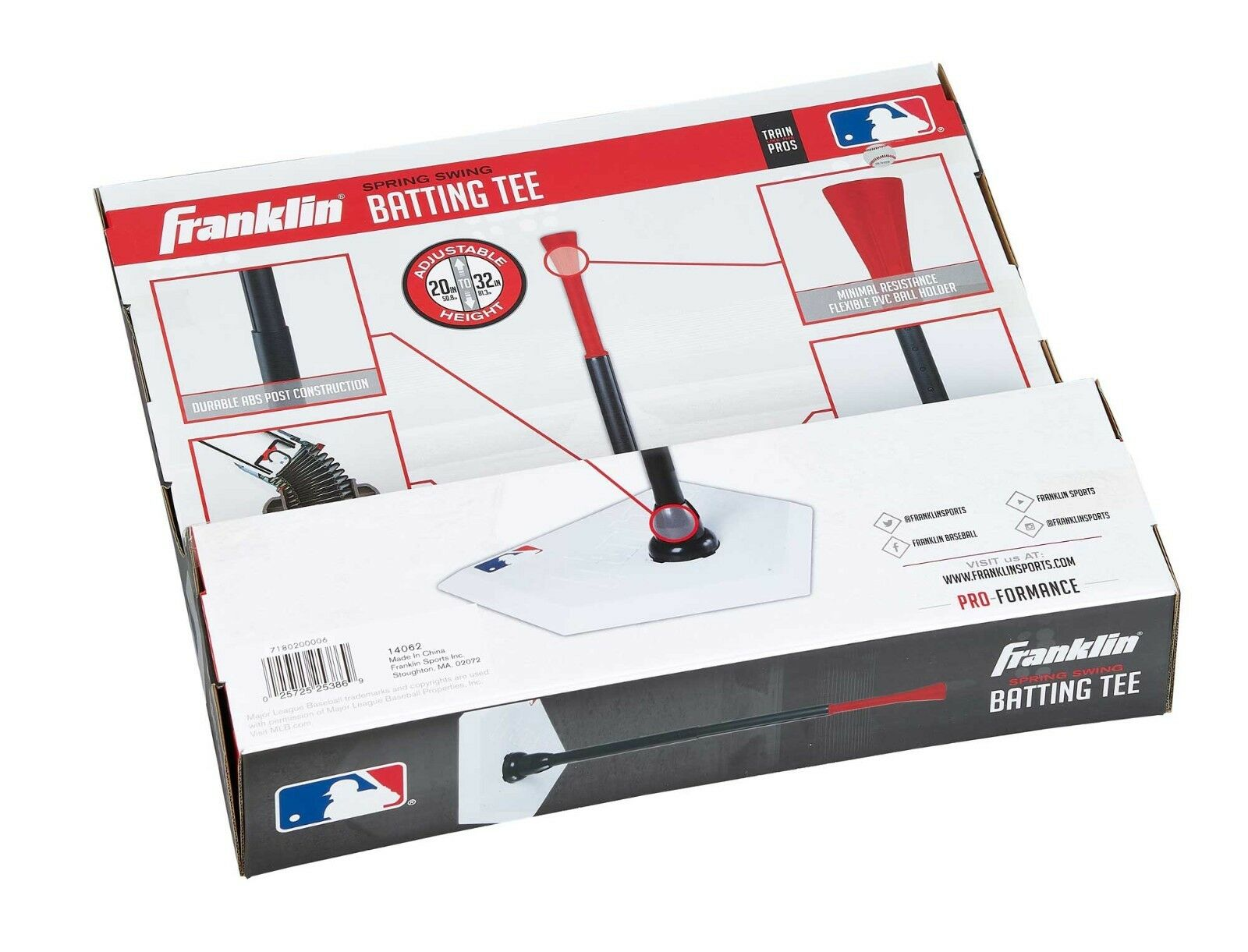 Franklin MLB ® Spring swing Batting Tee-Baseball-coup Tee-Baseball-coup Batting aide-Tee-Ball 41eacb