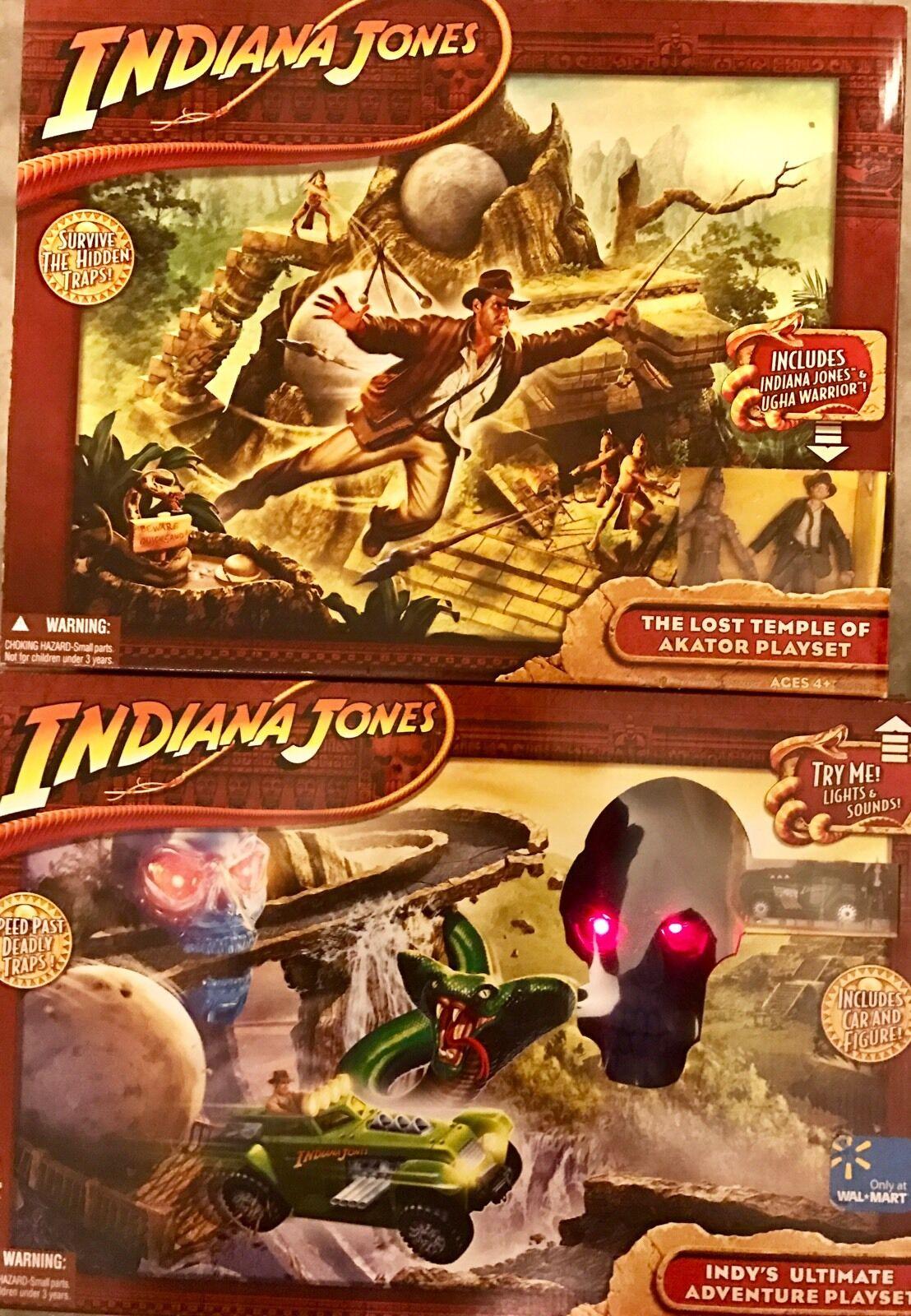Indiana Jones™ COMPLETE COLLECTION Adventure Playsets RARE RETIrot Hasbro Series