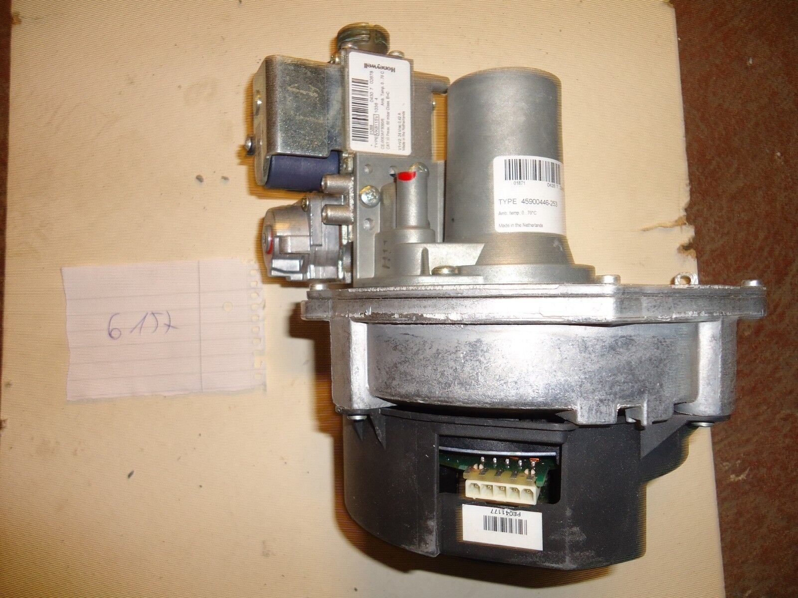 Honeywell Gebläse/ Gasarmatur VK8115_1036_4 Nr. Nr. Nr. G157 42a158