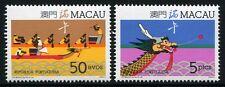 MACAU MACAO 1987 Drachenbootfestival Dragon Boat Festival 573-74 ** MNH
