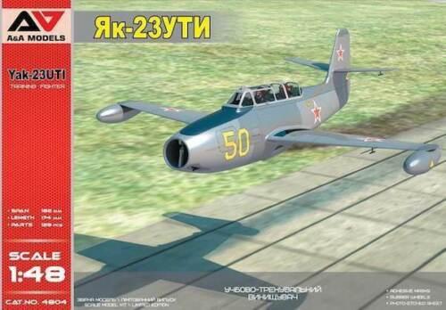 1:48 A/&A Models #4804 Yakovlev Yak-23 UTI Training Fighter
