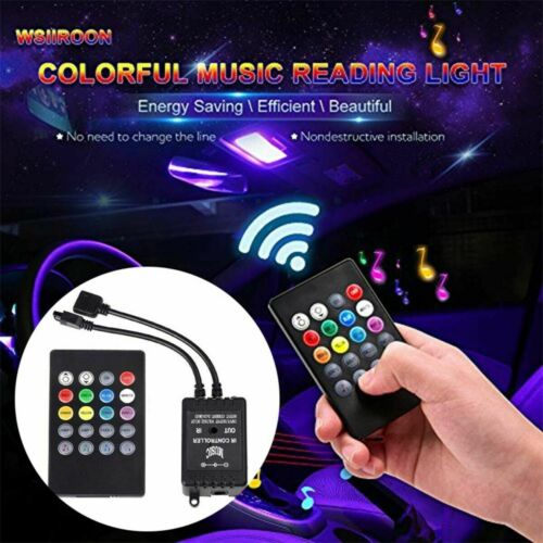 LED Strip Light RGB 5050 2835 Music Sync 12v Sound Sensor cabinet TAPE POWER set