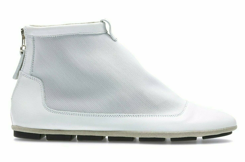 Clarks-Sokola Sky blancoo Combi Cuero botas al tobillo-mujer UK5 6 D US7.5 8.5 M