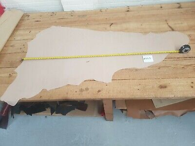 1 LEATHER SKIN PINK NICE QUALITY LEATHER 0.9MM THICK Two-tone Larp Craft