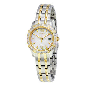 Citizen-Eco-Drive-Women-039-s-Diamond-Accents-Two-Tone-26mm-Watch-EW2364-50A