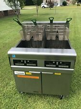 Frymaster Footprint Fryer Model Fpre217csc 480 V 3 Ph Xtra Clean Filtration